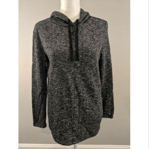 Fabletics Hoodie Sweatshirt Gray Size M